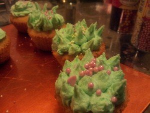 Cupcakes à la vanille dans Desserts cupcakes-1er-essai-300x225